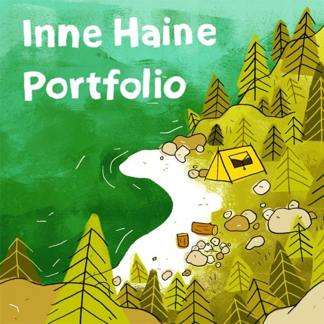 Inne Haine Portfolio-Voorpagina