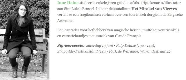 Inne_Haine_Stripgids_Festival_Turnhout