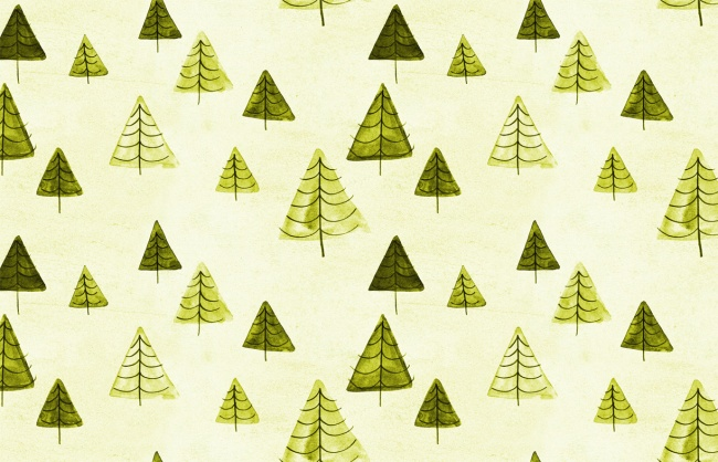 patroon bomen Inne Haine (klein) 2