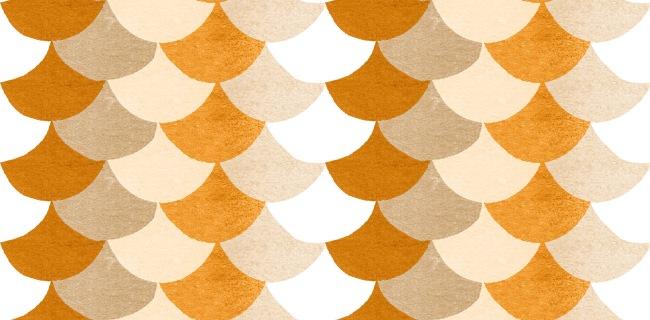patroon kleine schubben