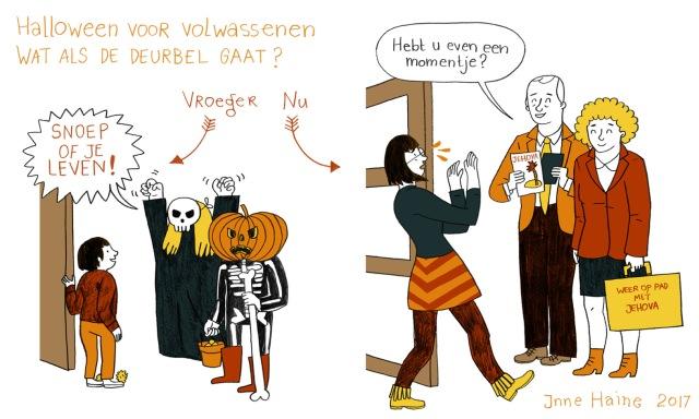 cartoon 001 - Inne Haine - Halloween Jehova
